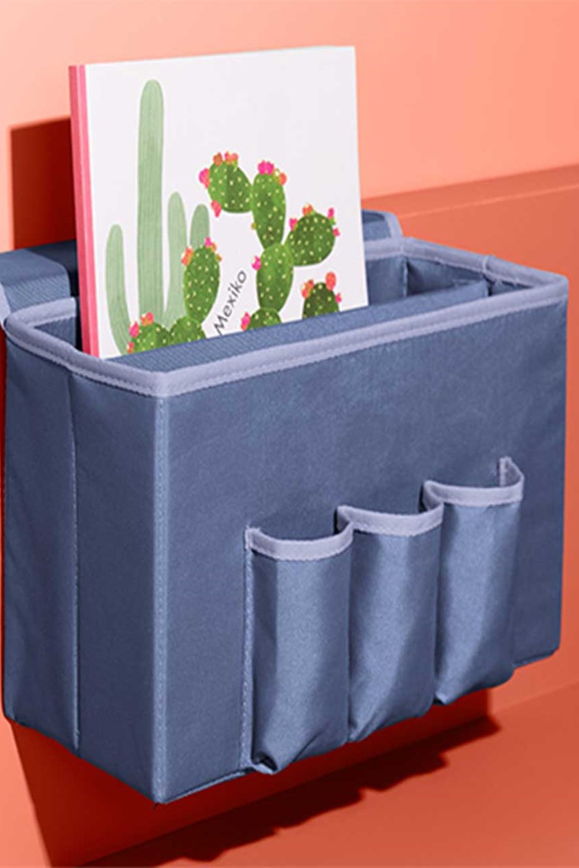 Storage Box For Bed, Blue