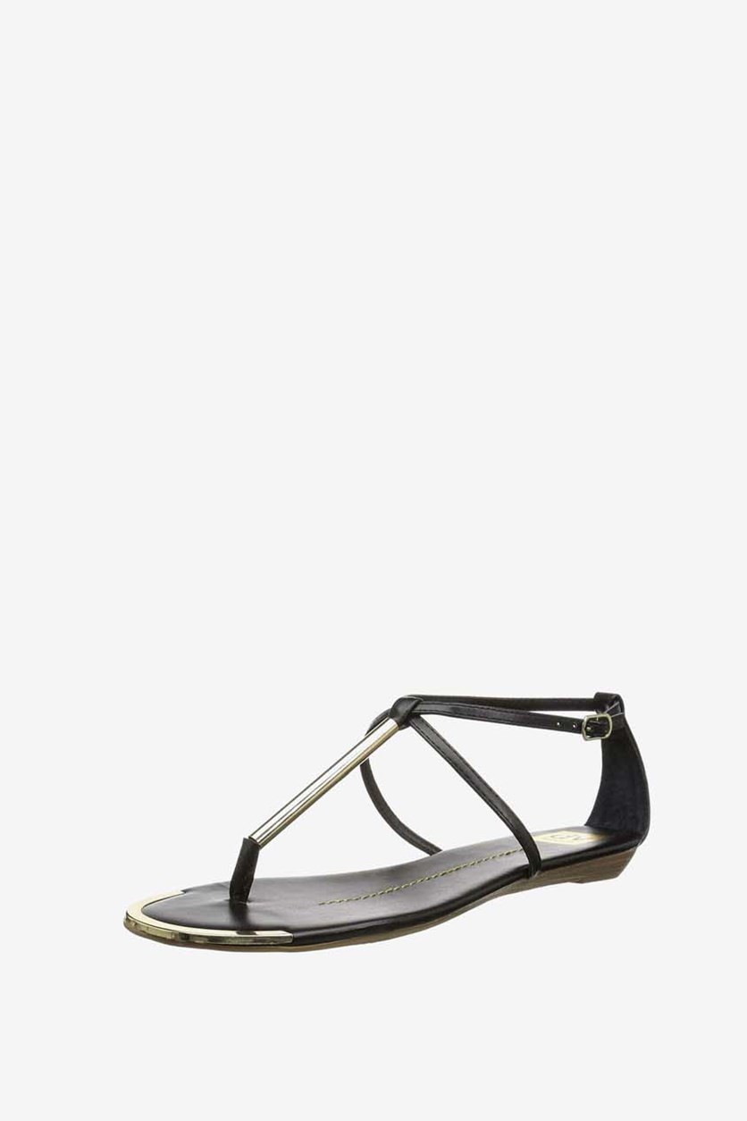 Womens Archer Casual Strappy Sandals, Black