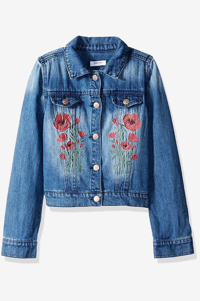 Toddler Girl's Denim Jacket, Blue