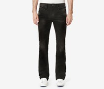 Buffalo Men's King-x Slim-Fit Bootcut Destroyed Jeans, Black