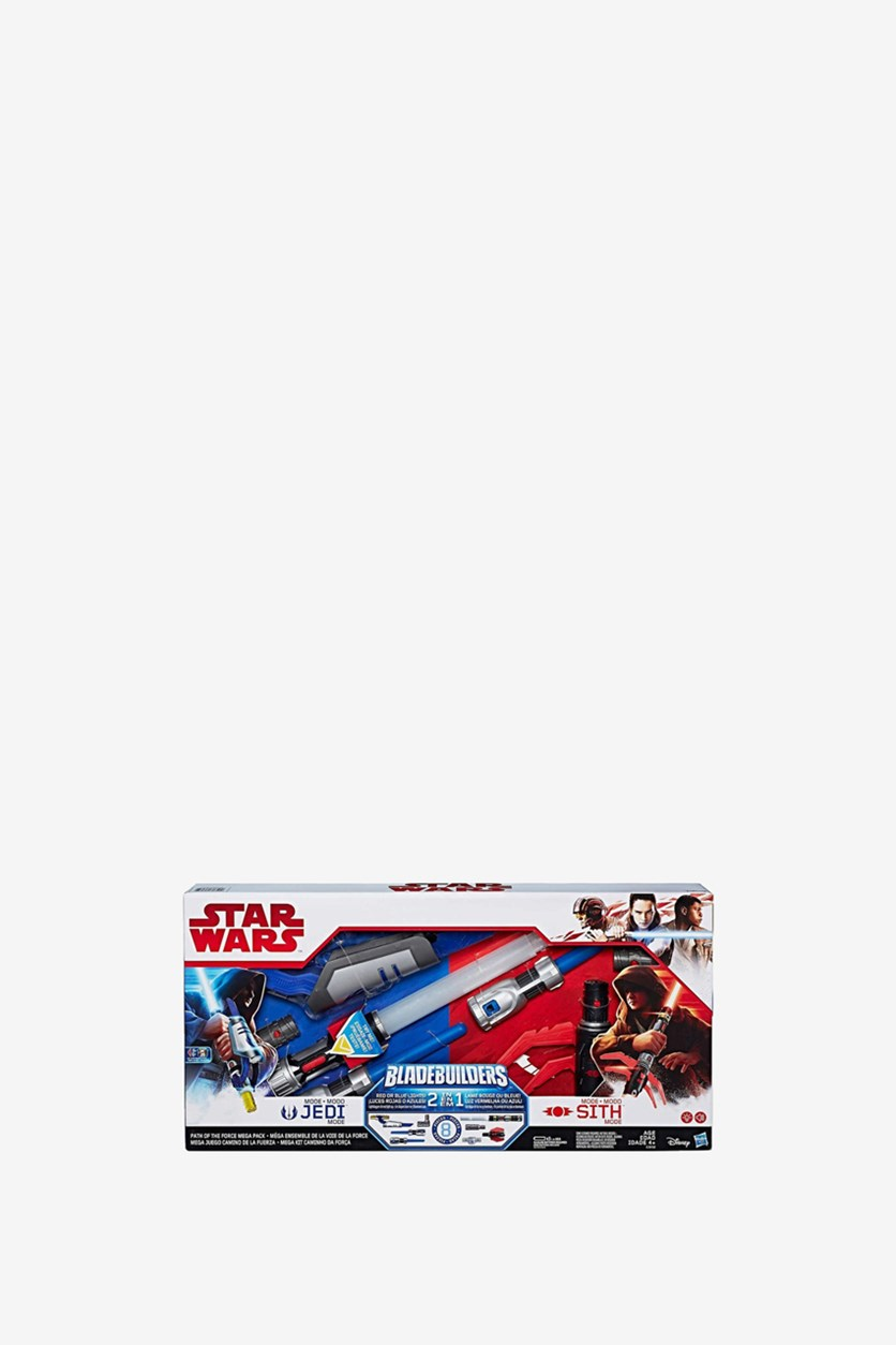 Bladebuilders Path of The Force Lightsaber, Red/Blue Combo