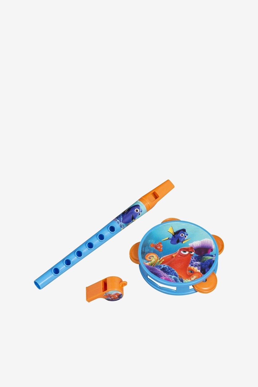 Finding Dory Musical Instruments Set Toy, Orange/Blue
