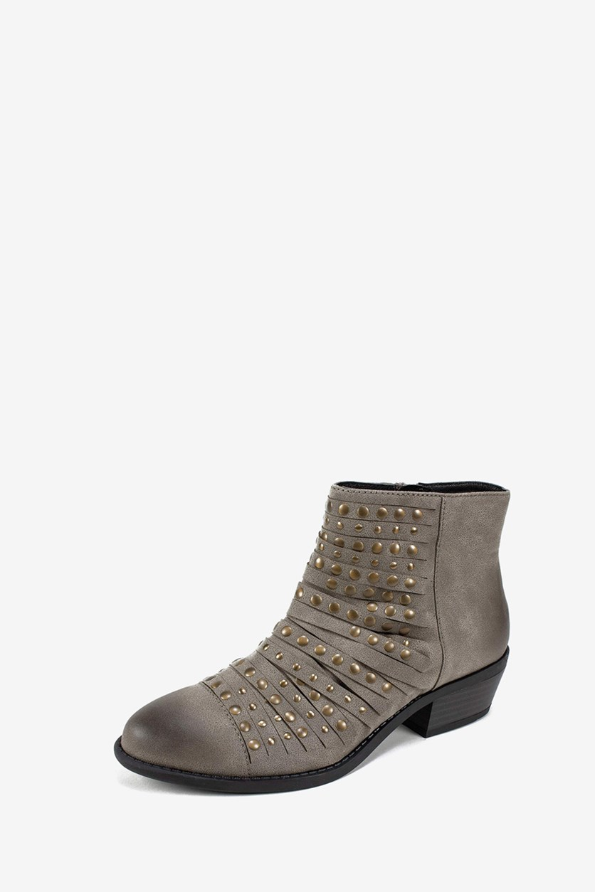 Women's Desire Boots, Stone Suede