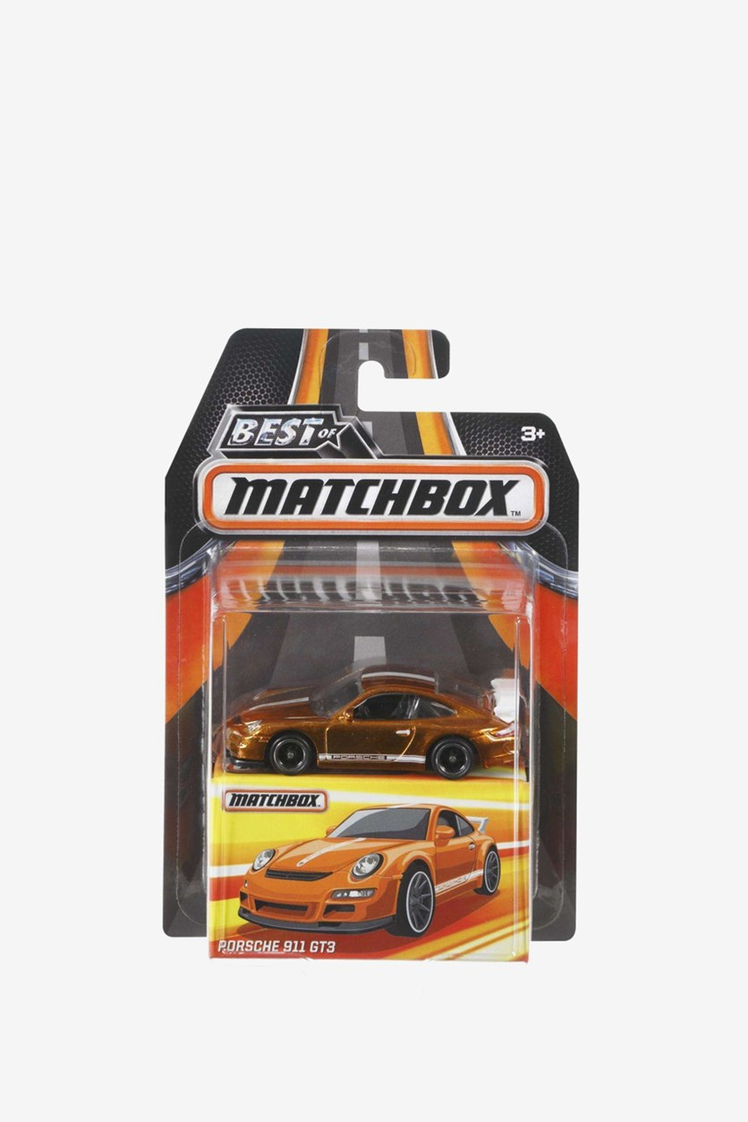 Best of Matchbox Porsche 911 GT3, Rust