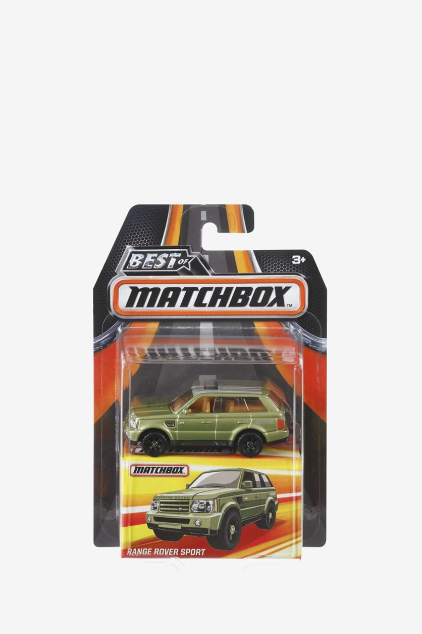 Best of Matchbox Range Rover Sport, Green