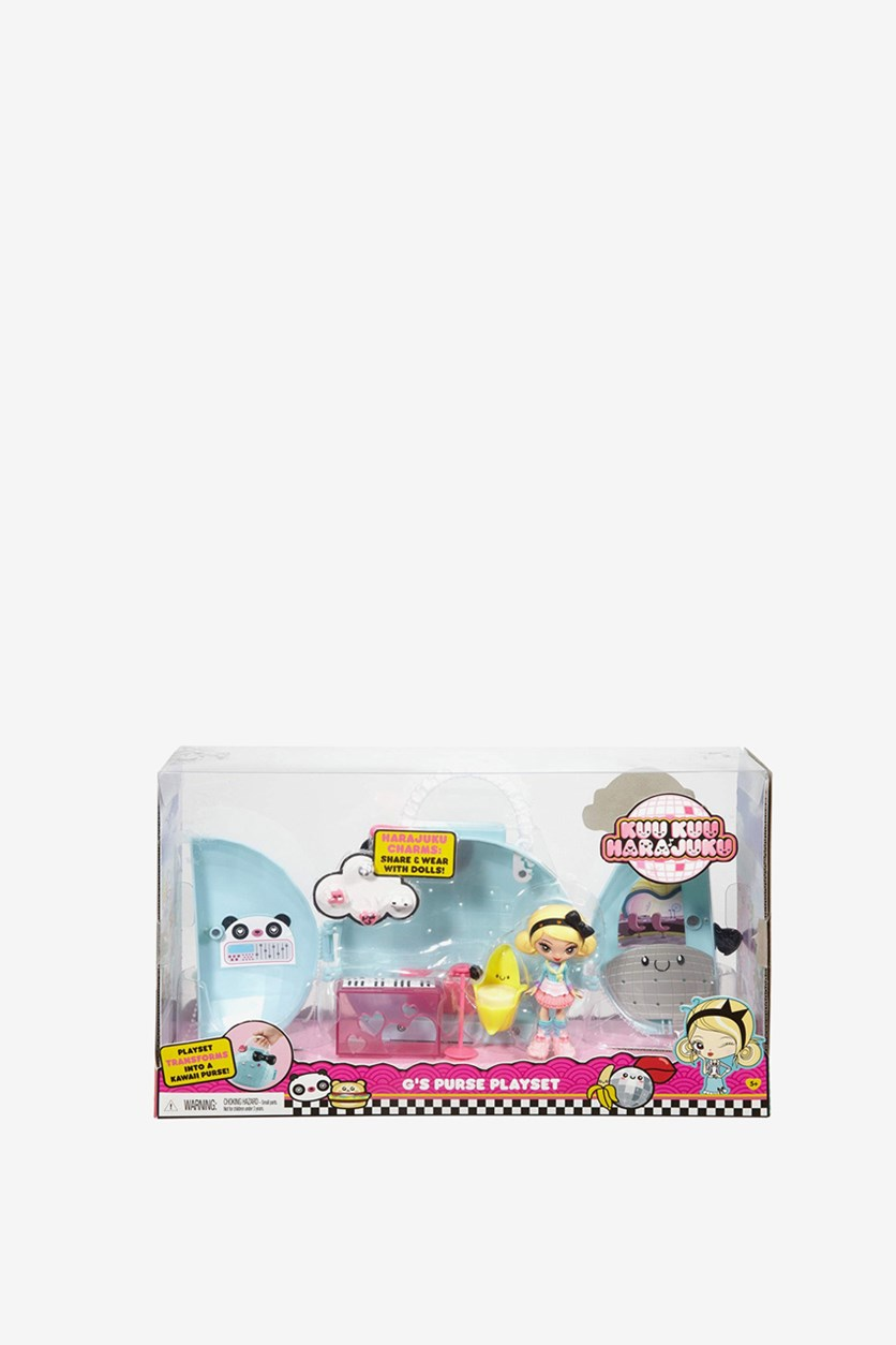 Kuu Kuu Harajuku Music's Purse Playset, Yellow