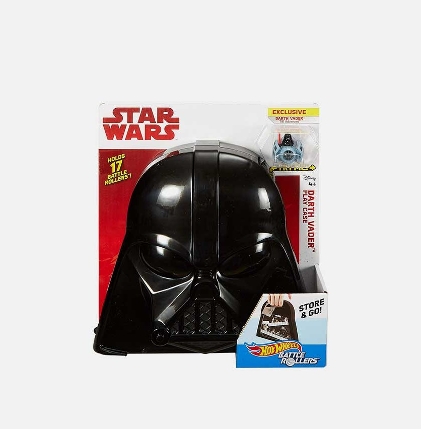 Star Wars Darth Vader Play Case Set, Black