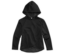 Ideology Girl's Fleece Hoodie, Black