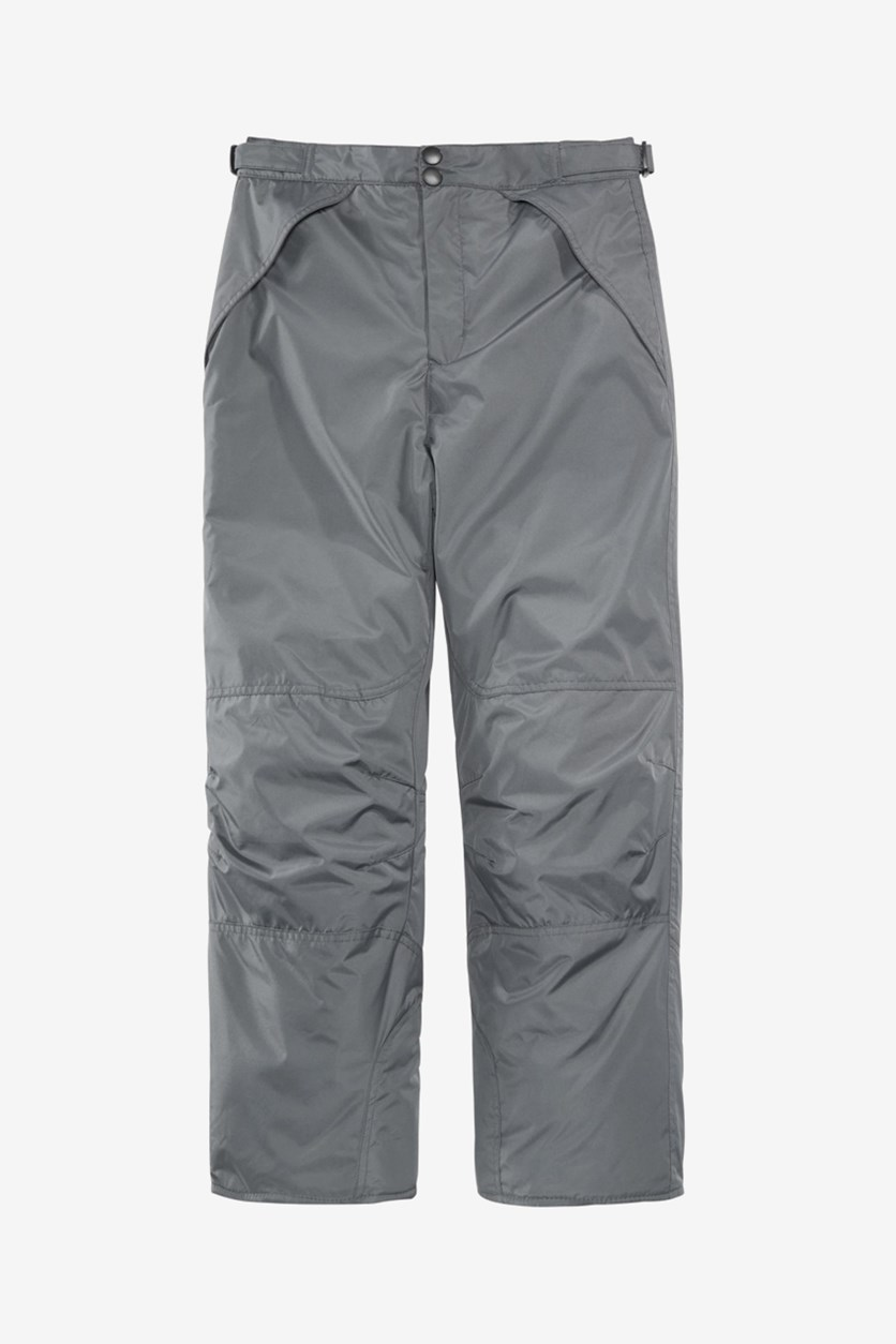 Big Boys Snow Pants, Grey