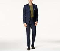 Calvin Klein Men's Slim-Fit Two Button Suit, Navy