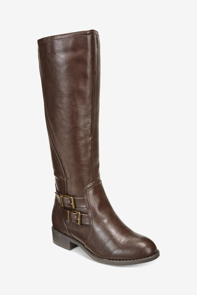 Women's Milah Knee High Boots, Chocolate