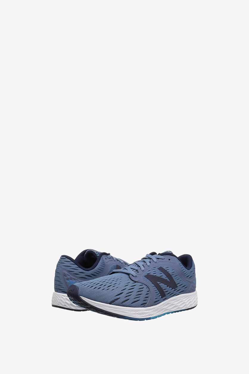 Men's Running Course Shoes, Medium Blue