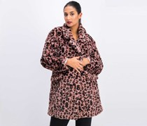 Women's Leopard Jacket, Pink