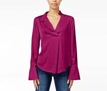 Rachel Roy Women's Bell-Sleeve Blouse, Purple