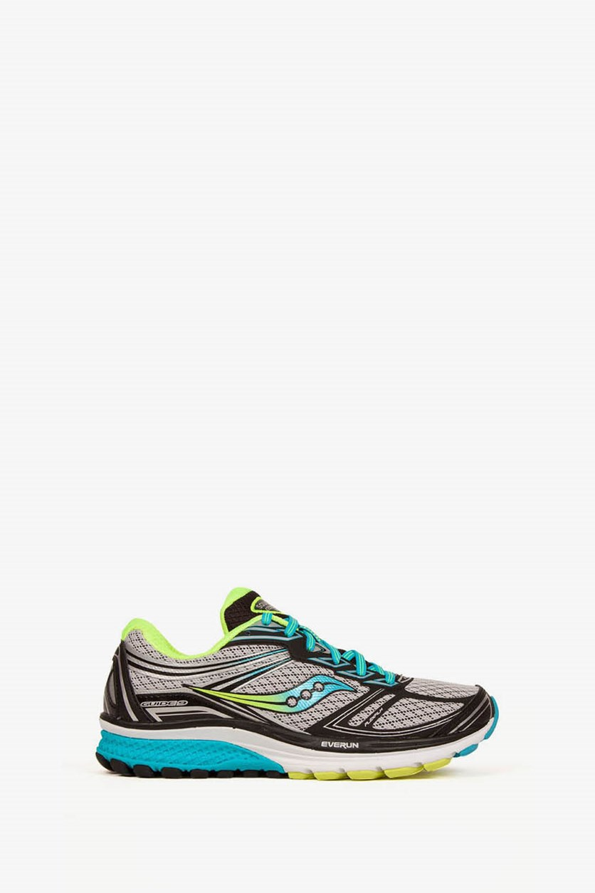 Women's Stability Running Shoes, Grey/Blue