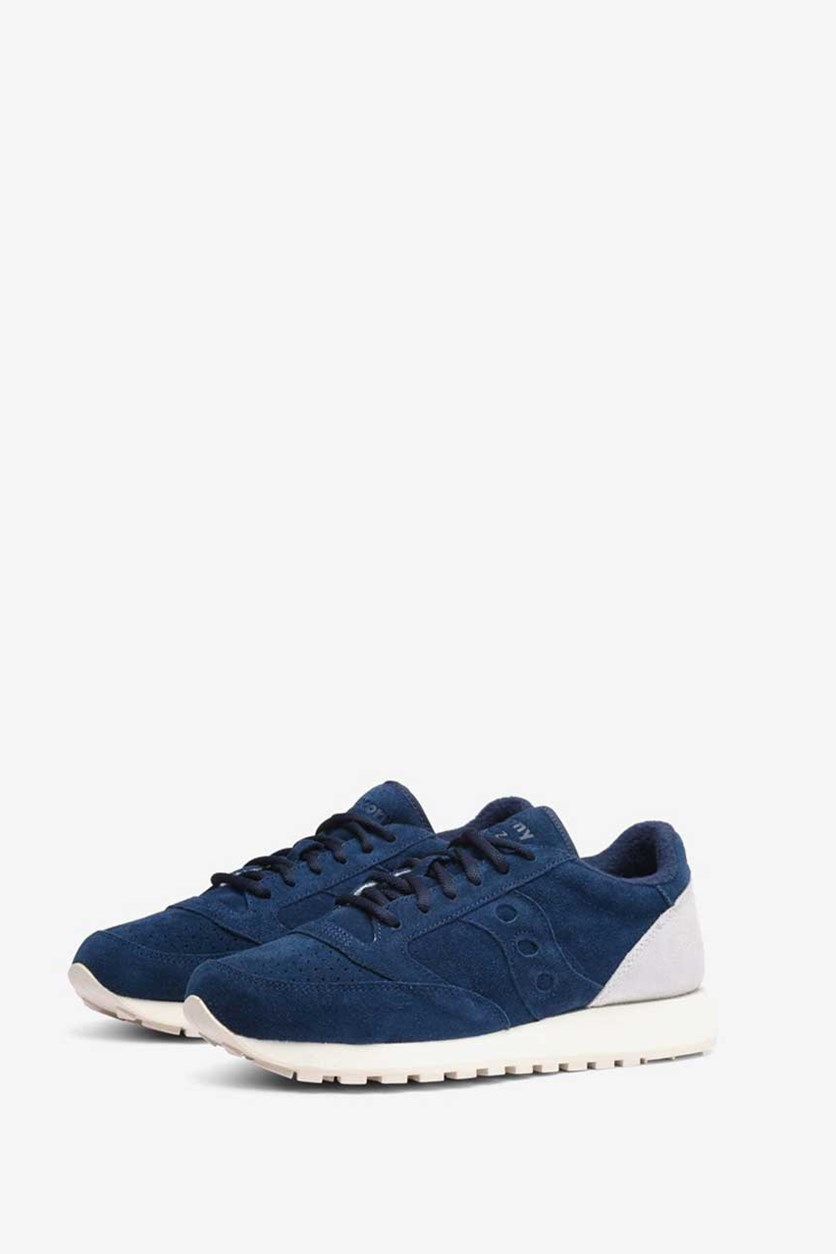 Jazz Original Suede Saucony Shoes, Navy
