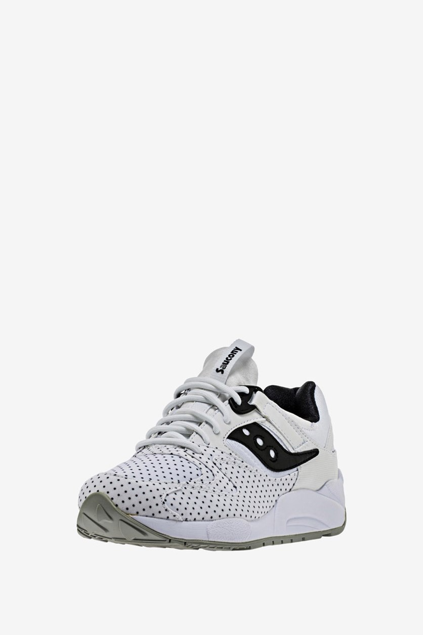 Men's Grid 9000 Microdot, White/Black