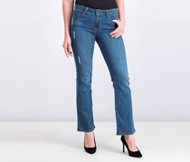 Women's Flayed Jeans, Blue