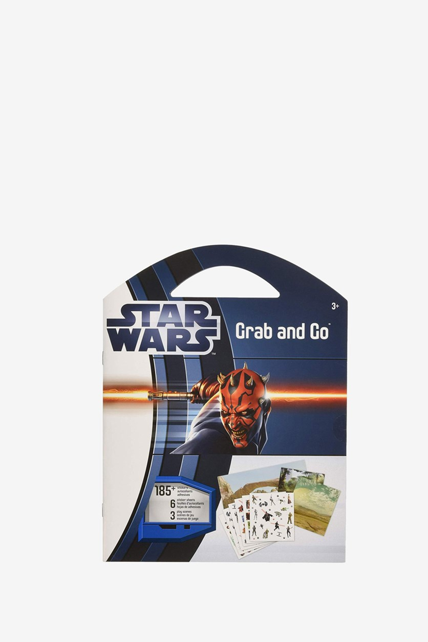 Grab & Go Star Wars Stickers, Blue Combo