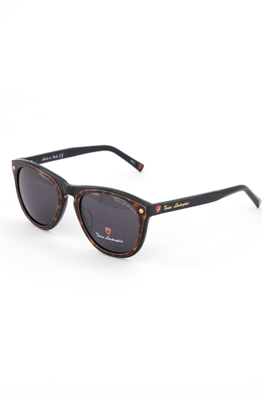 Women's TL572 Sunglasses, Black/Havana
