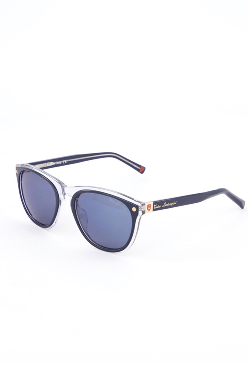 Women's TL572 Sunglasses, Transparent/Blue