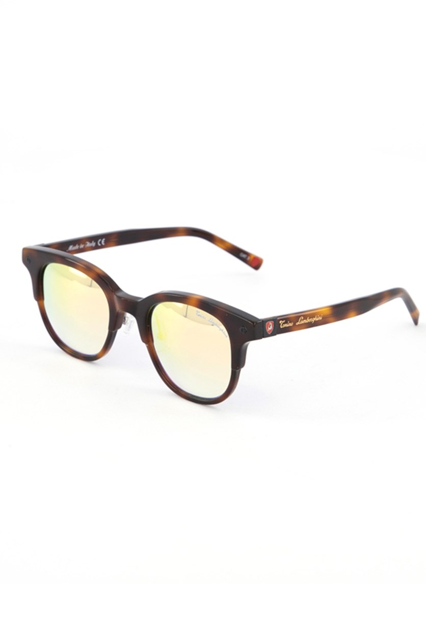 Women's TL574 Sunglasses, Havana Brown/Gold