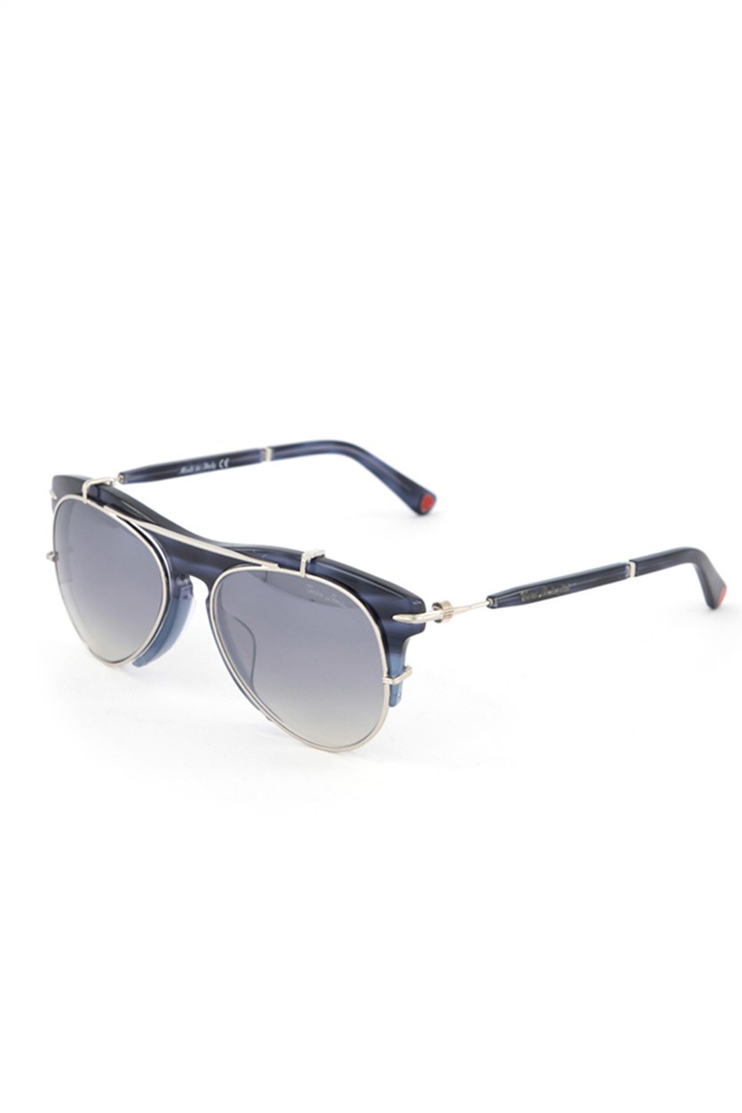 Women's TL588 Aviator Doublebridge Sunglasses, Blue