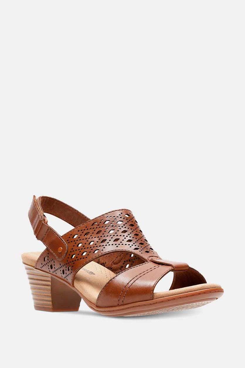 Women's Valarie Mindi Dress Sandal, Tan