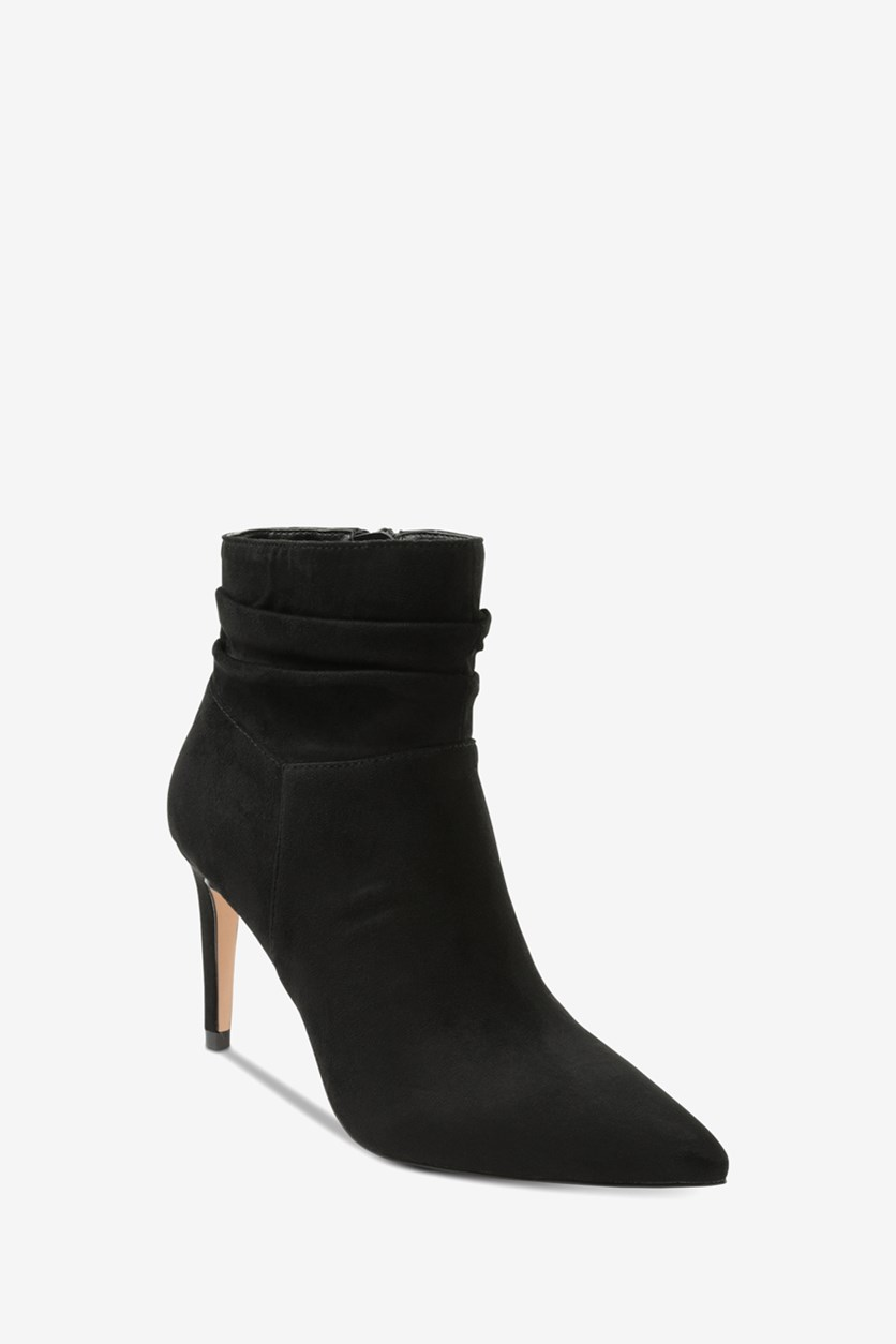 Women's Taniah Pointed Toe Ankle Boots, Black