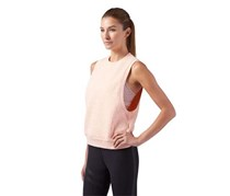Reebok Women's Yoga Pose Tank, Orange