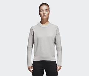 Adidas Women's Top, Grey
