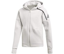 Adidas Girl's Hoodie, Heather Grey