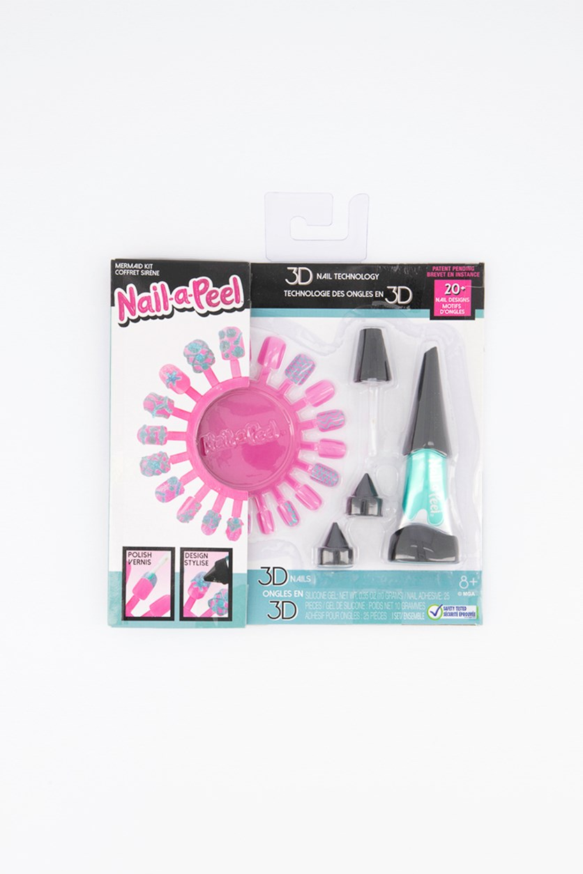 Girl's Nail-a-Peel Starter Kits, Mint