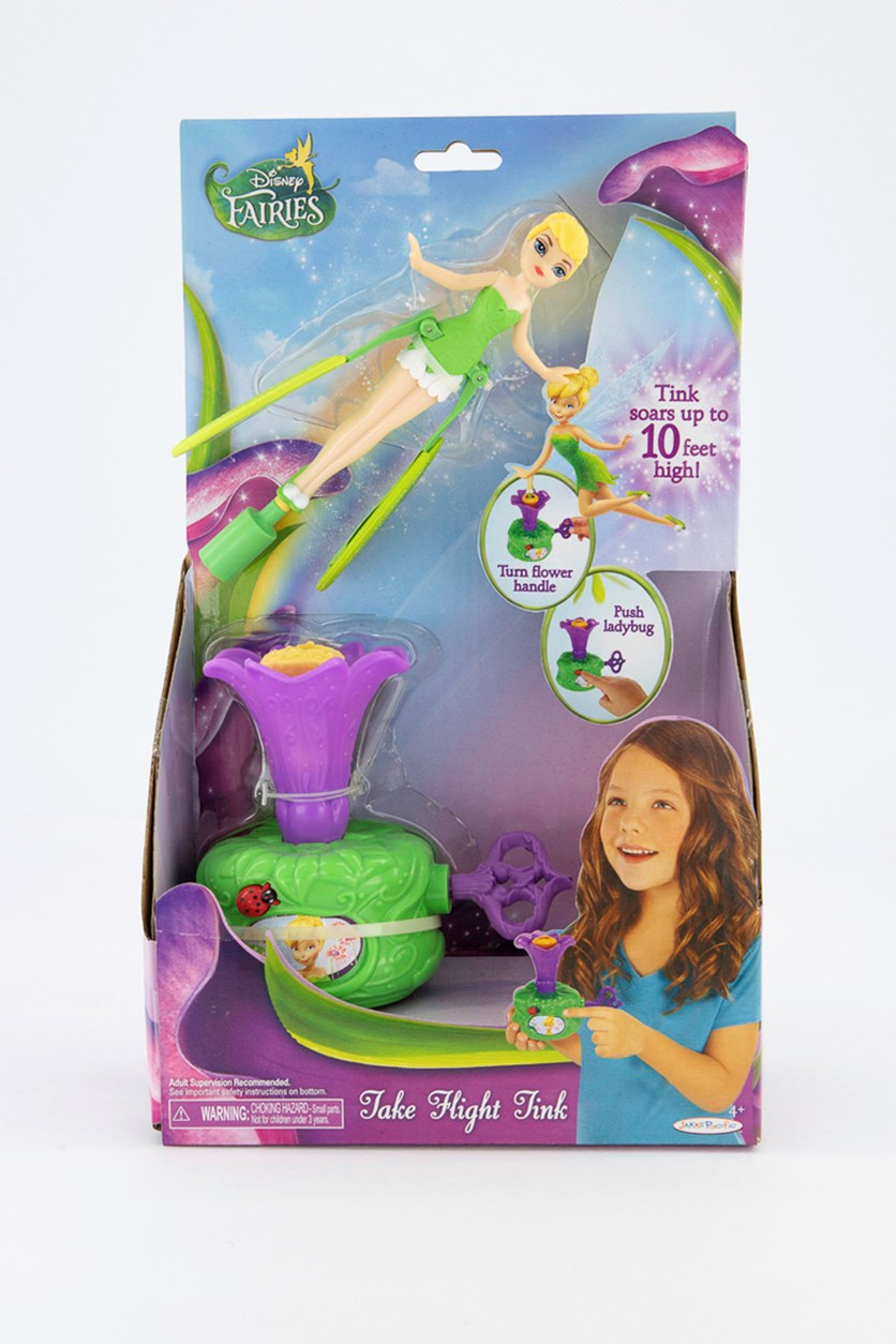 Fairies Light Up Sky High Tink Wave, Green/Purple
