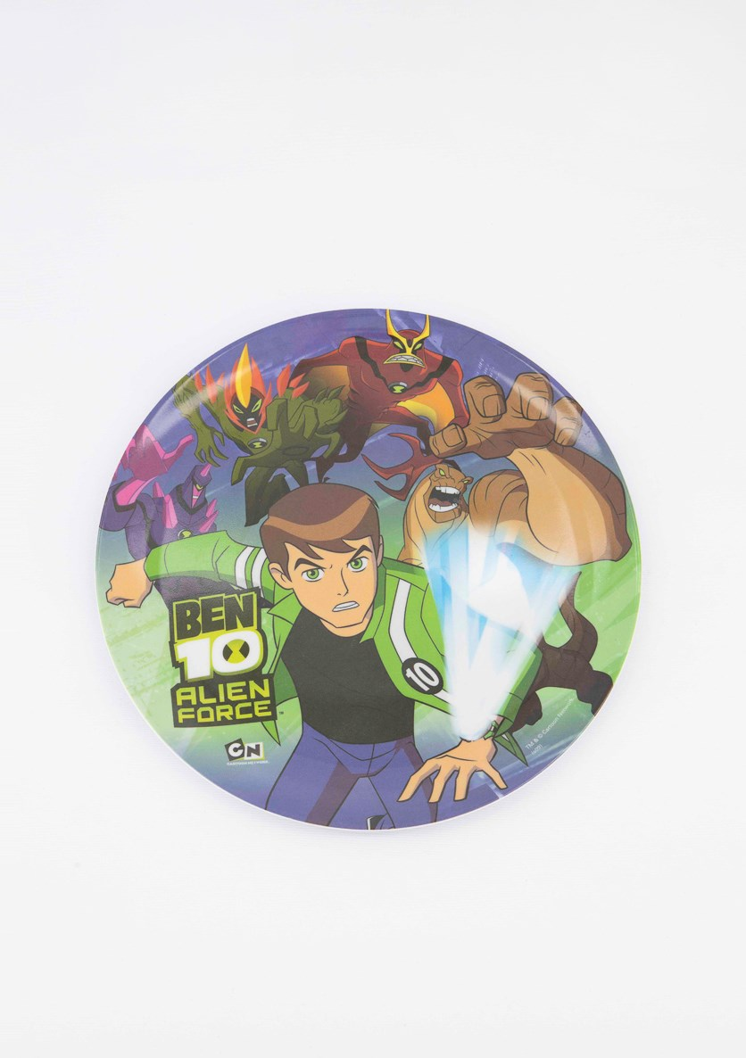 Ben 10 Coupe Plate, Green Combo