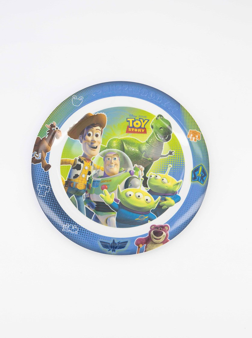 Toy Story Embossed Plate, Green Combo