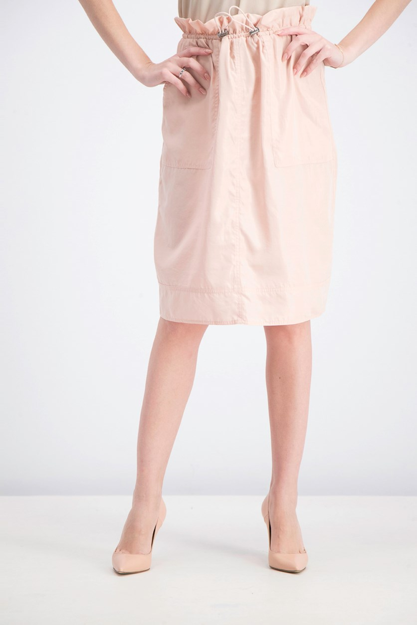 Women's Slant Pocket Skirt, Rose