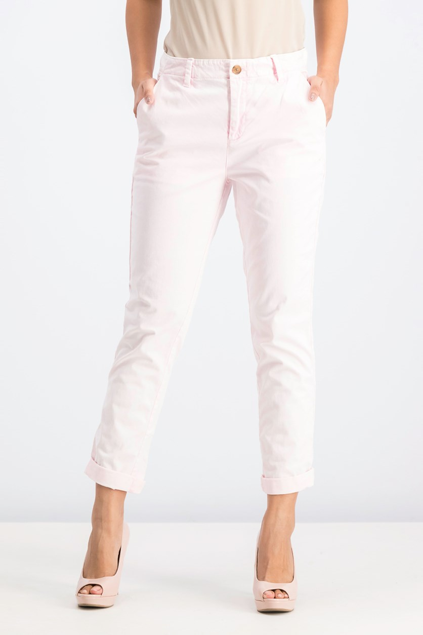 Women's Girl Friend Chino Pants, Light Pink