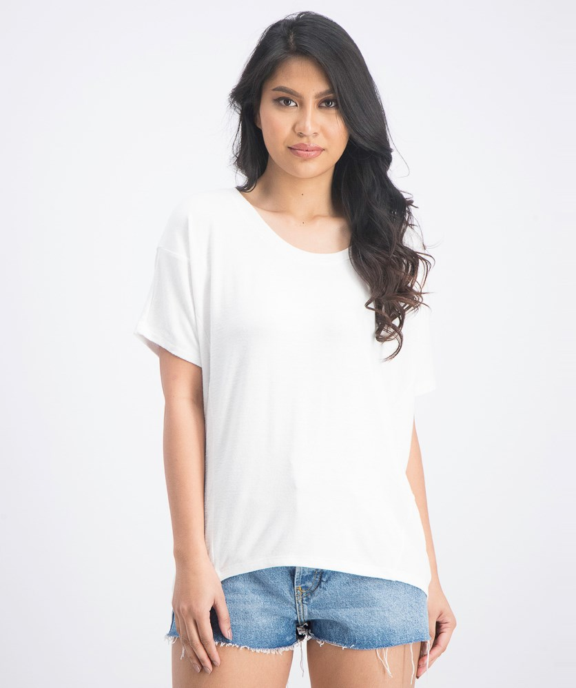 Women's Panel T-Shirt, White