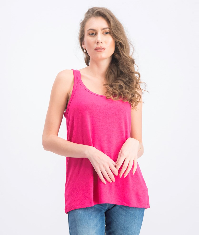 Women's Soft Strappy Tank, Pink