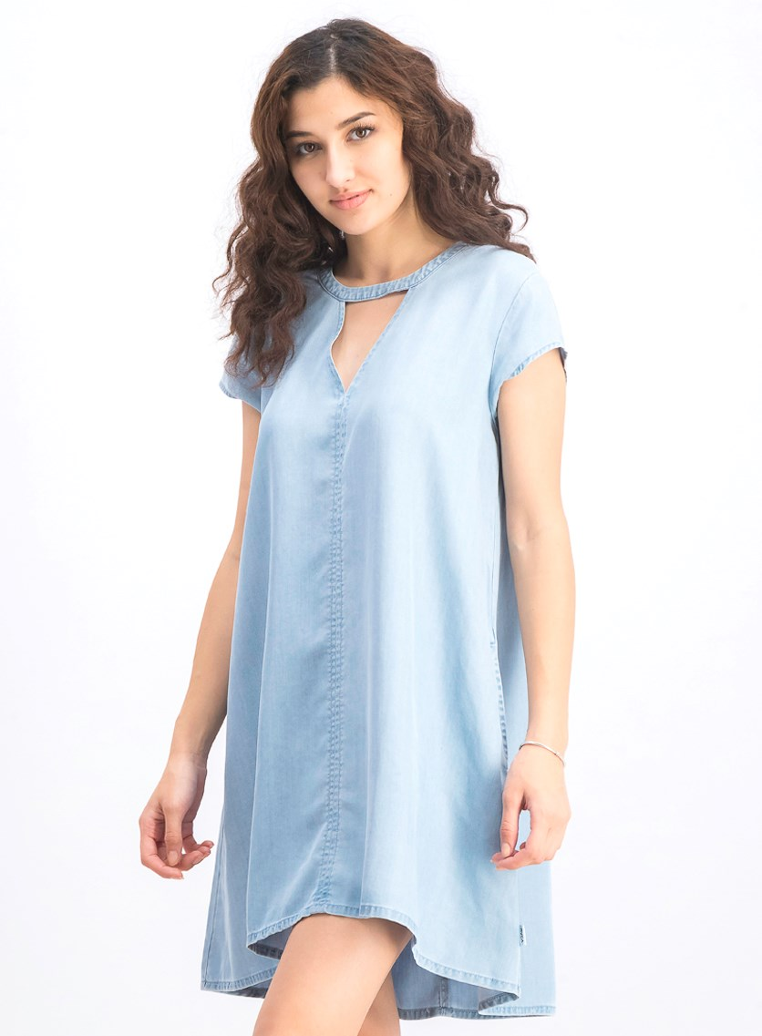 Women's Upbeat Wash Dress, Chambray
