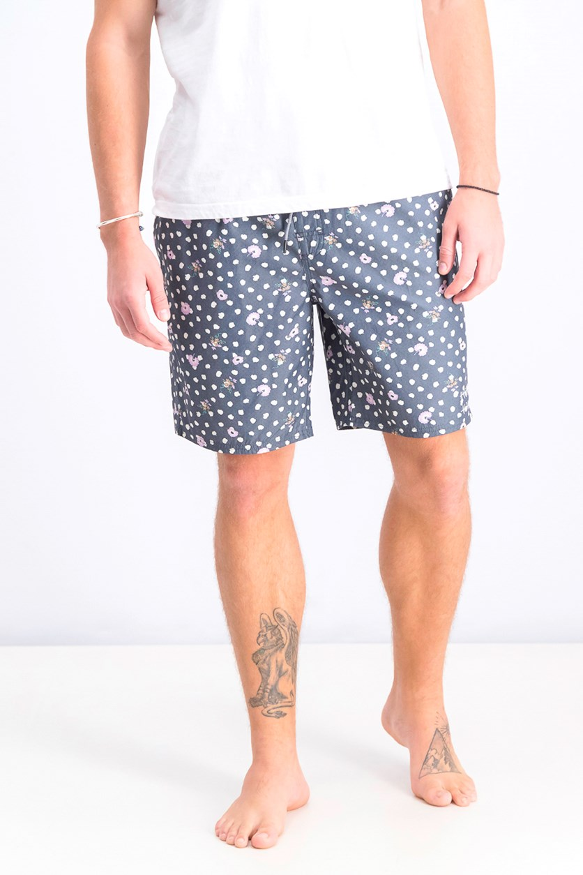 Men's Dahlia Elastic Short, Navy Combo