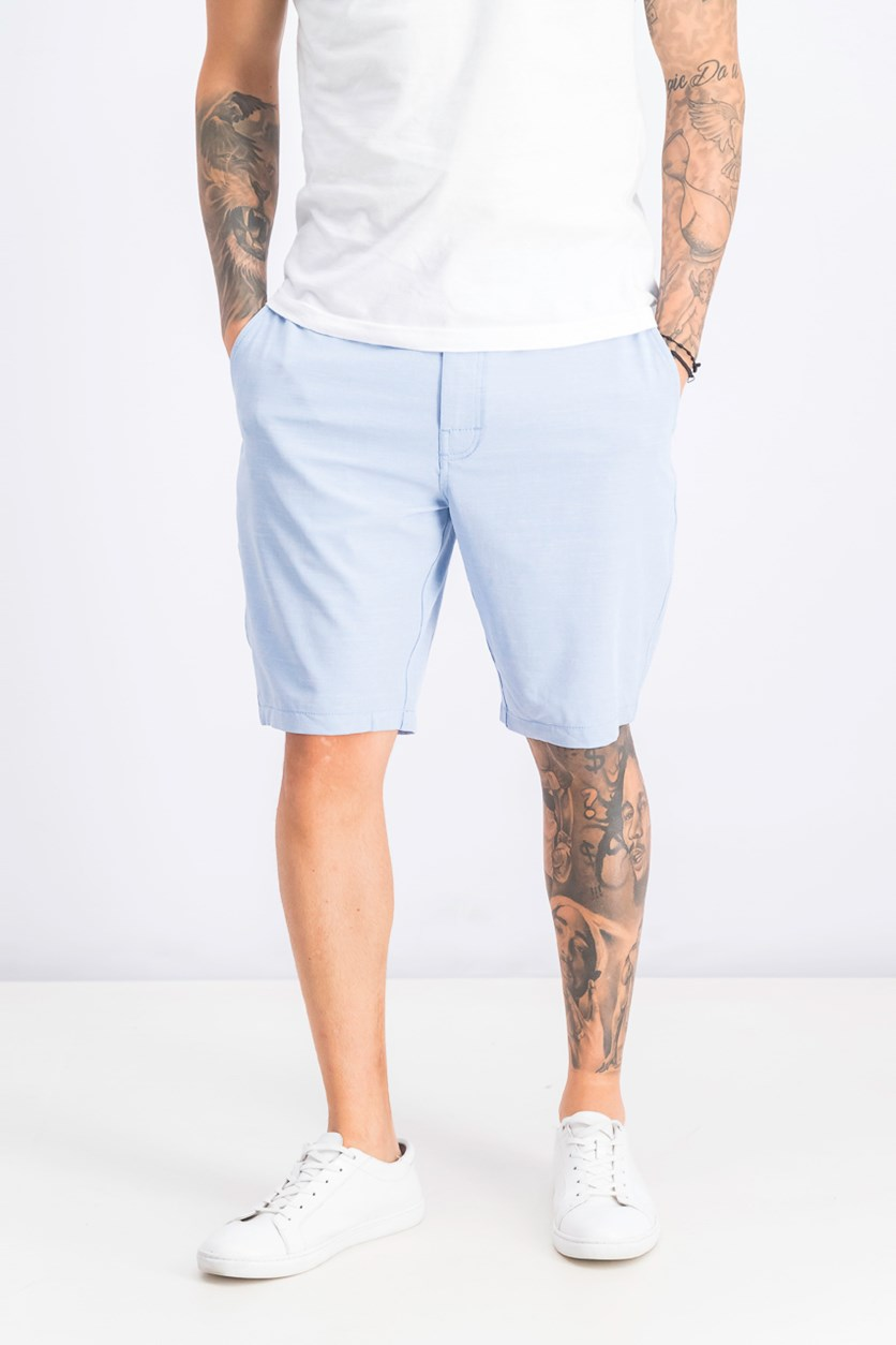 Men's Balance Hybrid Short, Light Blue