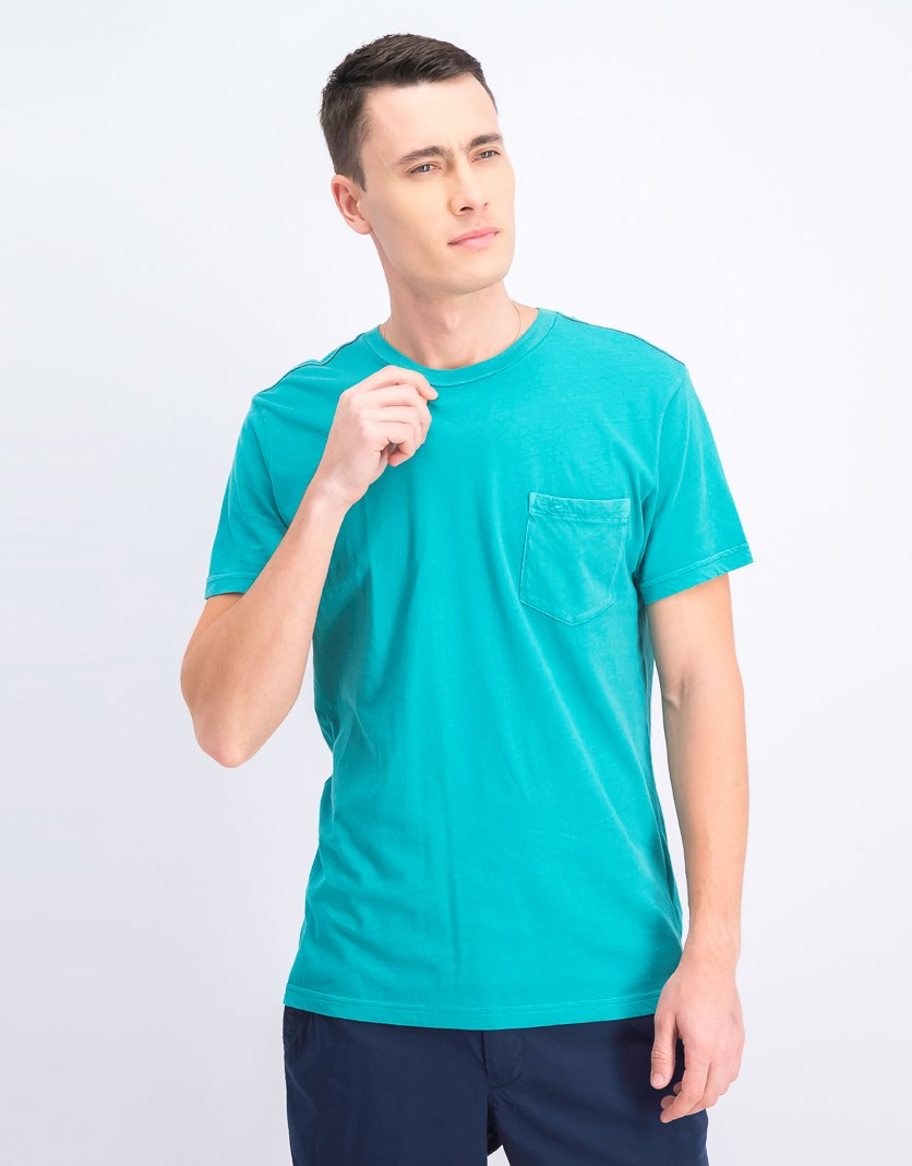 Men's Slim Fit T-Shirt, Teal
