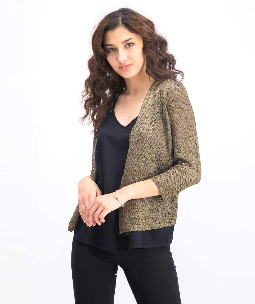 Women's Day Dreamer Cardigan, Marshland