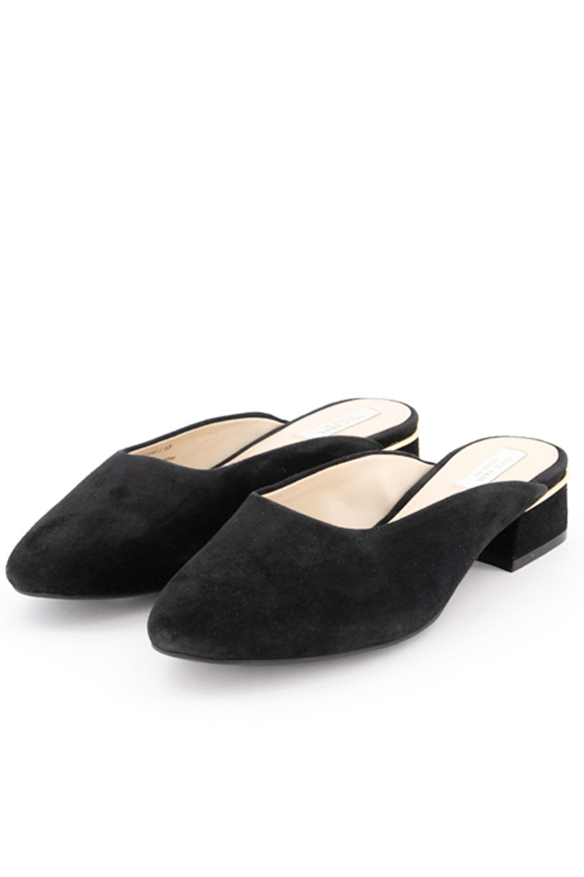 Women's Laree Slide Mules, Black
