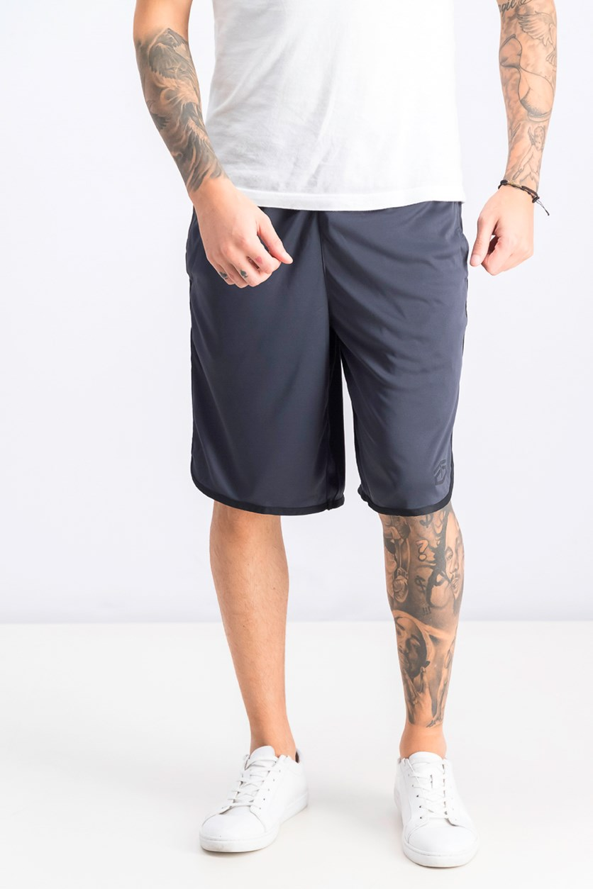 Men's Elastic Waistband Sport Short, Black