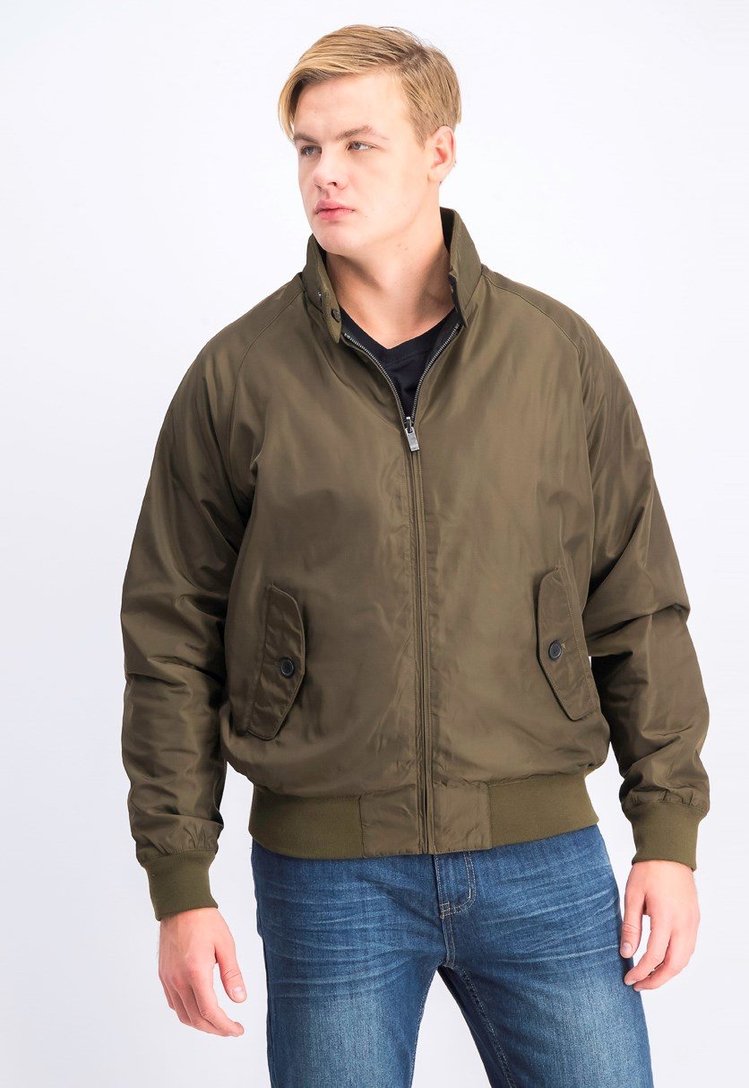 Men's Ultra Oxford Reversible Baracuta Jacket, New Army