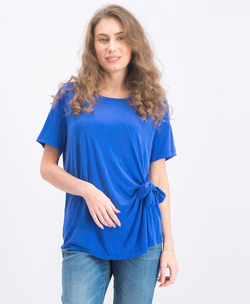 Women's Short Sleeve Top, Blue
