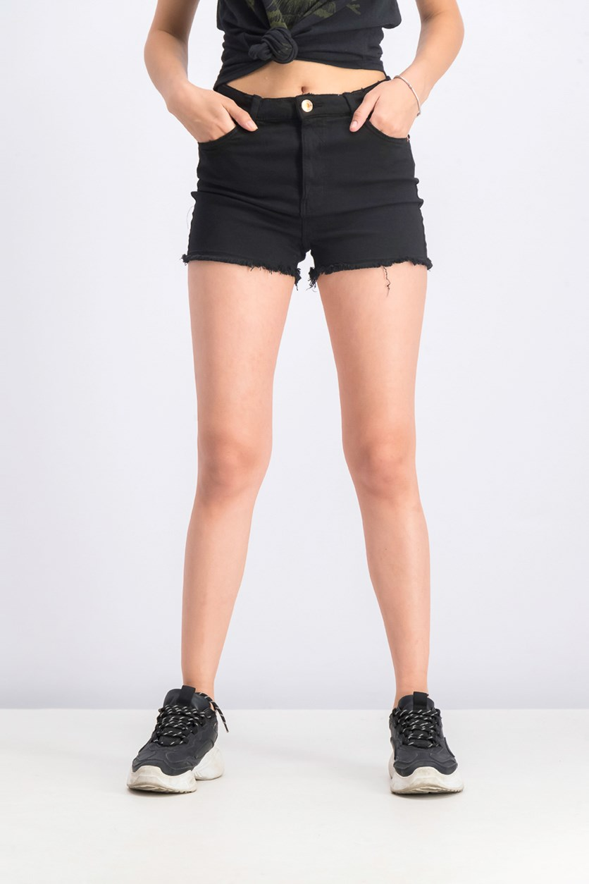 Women's Plain Short, Black